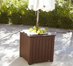 ham umbrella stand side table honey