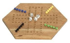 Wooden Aggravation Board Game Made Oak Aggravation Board Game 11