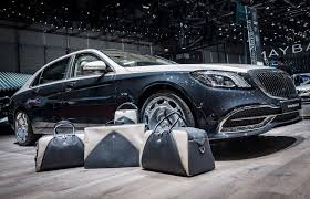 2018 mercedes maybach. geneva 2018: mercedes-maybach s-class owners can get luggage and accessories to match their cars 2018 mercedes maybach .