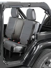 coverking rear leatherette seat covers for 97 01 jeep wrangler tj 20695