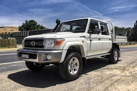 2018 toyota ute. contemporary ute toyota land cruiser lc70 ute front three quarter in 2018 toyota
