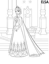 Frozen Kleurplaten Leuk Voor Kids Beste Kleurplaat Prinses Elsa20