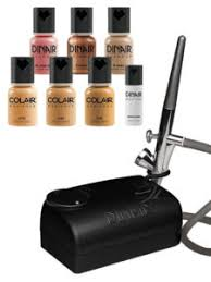 dinair airbrush makeup machine pro