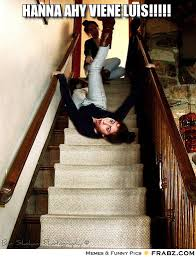 Falling down the stairs Meme Generator - Captionator Caption ... via Relatably.com