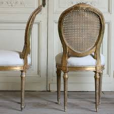 four dining room chairs fresh cane back