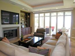 living room with tv. Catchy Living Room With Tv And Fireplace 30 Multifunctional Modern Designs D