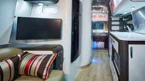 watching television in your caravan