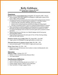 Resume Teaching Cv Template Chic Sample Teacher Experience