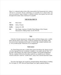 Persuasive Memo Examples Legal Memorandum For Summary Sudgment How To Write A Legal Memo