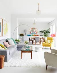 Bright Living Room Decoration