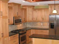 Contemporary Kitchen Birch Cabinet Design Pictures Remodel