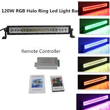 Color Changing Led Light Bar For Truck Straight 20 22 Inch 120w Color Changing Led Light Bar With