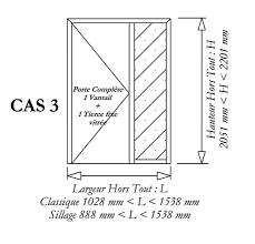 Great CAS 3 : Door With One Glazed Third Part
