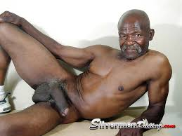Older black men nude