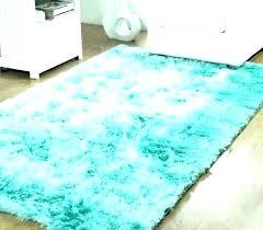 blue fluffy carpet grey rug baby light aqua rugs area bath popular round large