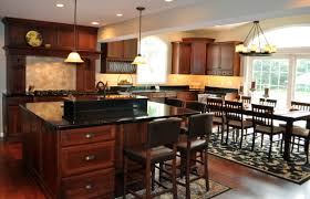 Kitchen Cherry Cabinets Kitchen Table With Cherry Cabinets Cliff Kitchen