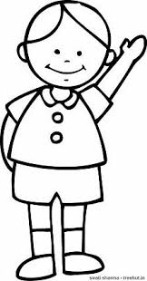 Small Picture Simple Boys Coloring Pages