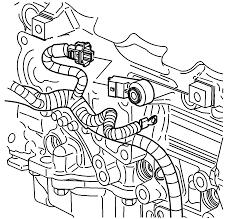 Repair instructions knock sensor replacement bank 2 2004