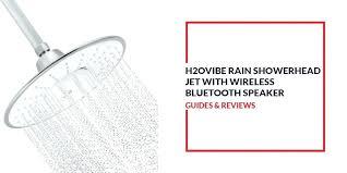 showerhead with speaker rain jet wireless review bluetooth