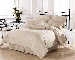 image of beautiful cream comforter sets queen