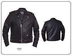 premium buffalo motorcycle jacket with side laces by unik leather