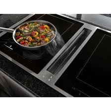 jenn air induction cooktop with downdraft. Brilliant Cooktop HomeCooktops 36u201d Induction Downdraft Cooktop With Jenn Air A