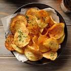 air fried potato chips