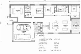 3 bedroom long house plans new modern floor plans australia homes small home 3d house 2