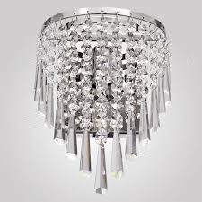 conca 8195 diy mini bedside decorative crystal wall light lamp bulb holder w e14 connector silver