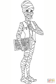 Small Picture Mr Mummy coloring page Free Printable Coloring Pages