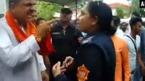 Bjp Mla Abuses Lady Cop In Police Station Video Goes Viral The