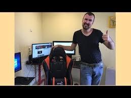 <b>Компьютерное кресло AeroCool AC220</b> AIR - YouTube