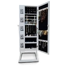 mirror armoire. 2017 wooden mirror jewelry armoire cabinet with double doors photo frame storage organzier case usa stock from fashionyourlife, $157.79 | dhgate.com