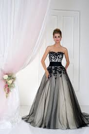 black and white gothic wedding dresses 58 with black and white