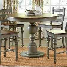 high round dining table bar