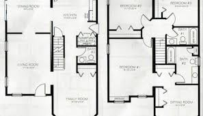 4 Plex Plans Townhome Plans 4 Bedroom Townhouse F5384 Bedroom Townhouse Floor Plans