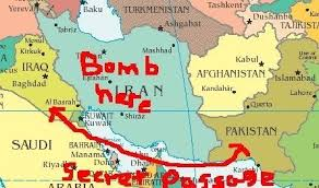 This border is called loc (line it control )and a jack door to india. Mccain S Secret Map Showing Iraq Pakistan Border Huffpost