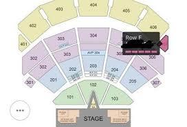 Aerosmith Park Theater Las Vegas September 28 Aisle Seat