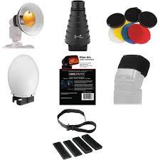 Impact Syl Arena Strobros On Camera Flash Light Modifier Kit