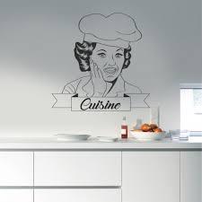 Stickers Muraux Cuisine Sticker De Décoration Pour Cuisine Pas Cher