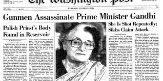 Feroze Gandhi Family Chart The Assassination Of Indira Gandhi Slices Of India Some