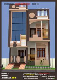 smt leela devi house 20 x 50 1000 sqft floor plan and 3d elavation