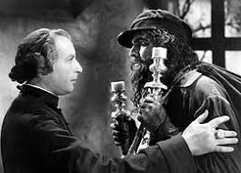 les miserables film  cedric hardwicke and fredric in les miserables