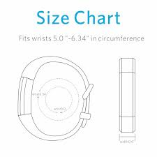 Fitbit Alta Wrist Size Chart Sports Outdoors Fitbit Ace Bands For Kids Fitbit Alta Hr