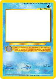 pokemon blank card template