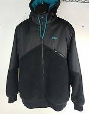 nike 6 0 jacket. nike 6.0 angle hybrid black \u0026 teal jacket men\u0027s sz xl nike 6 0 e