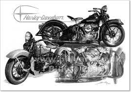 1947 harley davidson knucklehead fine
