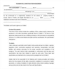 with material construction agreement construction agreement template construction subcontractor agreement