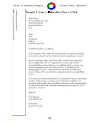 Relocation Cover Letter Examples Free Cover Letter For Free And