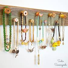 Spool Your Jewels- Necklace Rack